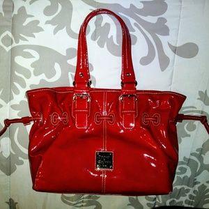 Dooney & Bourke Red Chiara bag